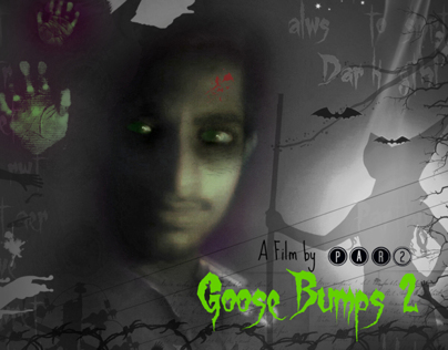 MY GOOSEBUMPS POSTER IN ADOBE PHOTOSHOP