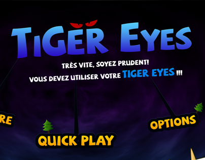 Tiger eyes Game