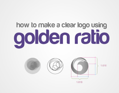 how to design a logo using golden ratio