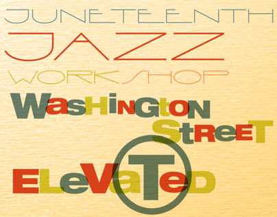 Jazz Workshop @ Levi's Posters