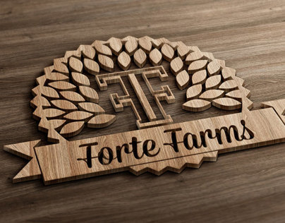 Logo Design & Branding - Forte Farms Logo
