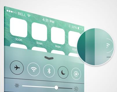 iOS7 Blur effect