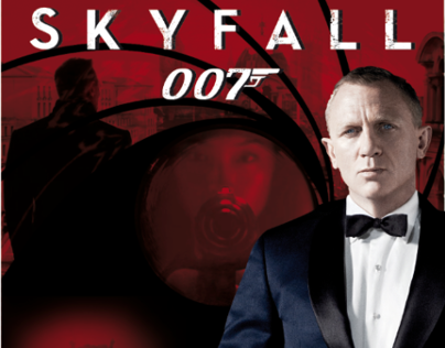 "DVD-Cover ""007 Skyfall"""