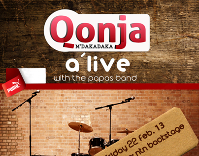Qonja Mdakadaka Alive with papas band