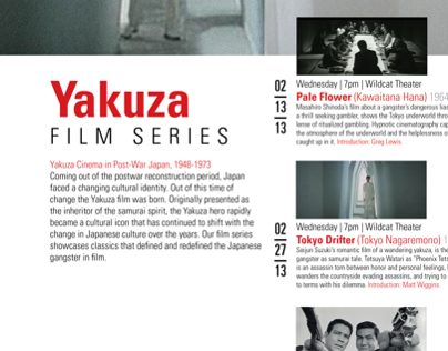 Yakuza Film Series Poster