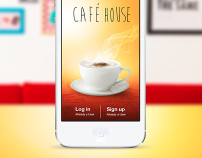 CAFE HOUSE - iOS 7 app