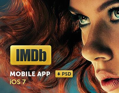 IMDb The New iOS 7 App