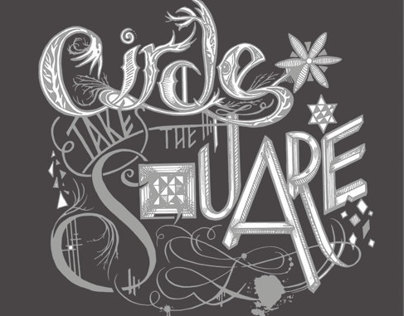 Circle Takes the Square Tour Poster