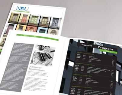 NDU Rebranding (Freelance Project, Team)