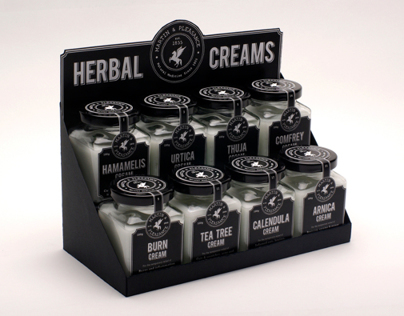 Herbal Creams Packaging