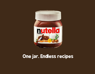 nutella l One Jar. Endless recipes.