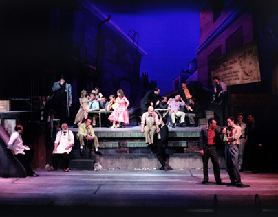 Assistant Scenic Design for West Side Story