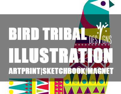 Bird Tribal Illustration