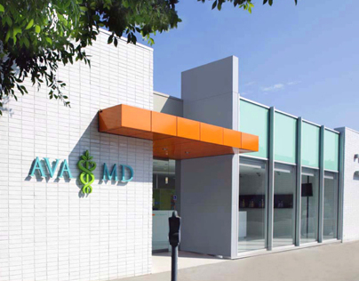AVA MD Medical Spa Brand Identity & EGD