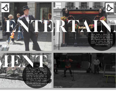 Interactive Magazine - Covent Garden