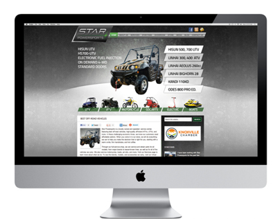 Website Design for Star Powersports