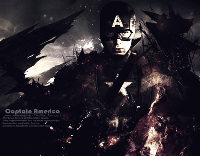 Captain America the Battle End - wallpaper