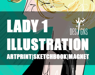 Lady 1 Illustration
