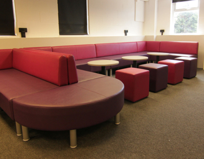 Pretty in Pink: Modular Seating @ Hugh Faringdon Sch
