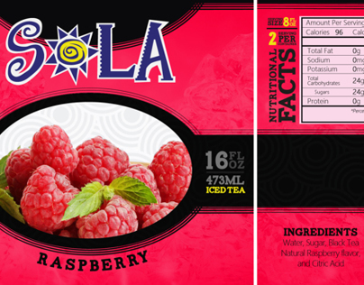 SOLA | Label Redesign