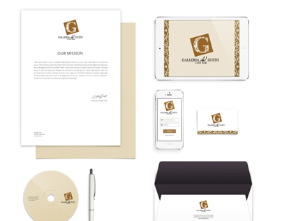 Corporate Identity - Gallerial del Gusto