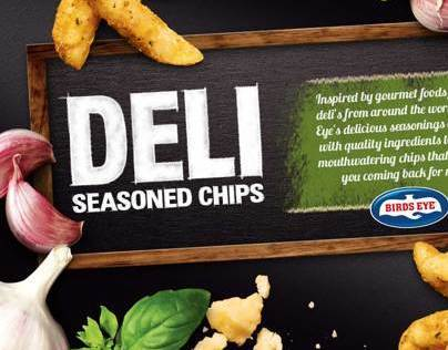 Birds Eye Deli Seasoned Chips