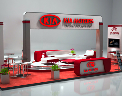 KIA Motors Booth