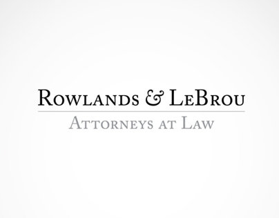Rowlands & LeBrou Logo Ideation