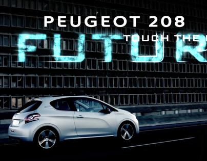 Peugeot 208 Typography