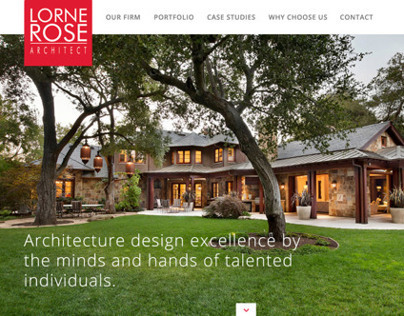 Lorne Rose Architect Responsive Parallax