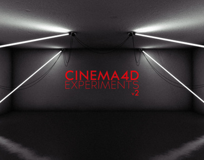 Cinema4D Experiments v2 Black Edition