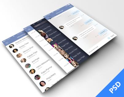 Facebook Messenger For iOS 7