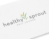 Healthy Sprout Deli Lounge: Logo/trademark