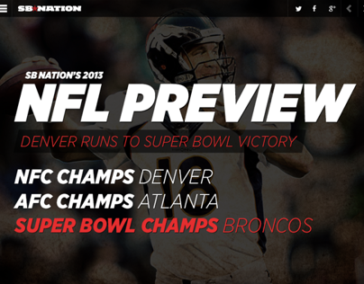 SB Nation - 2013 NFL Preview Site