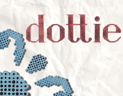 Dottie: custom typeface