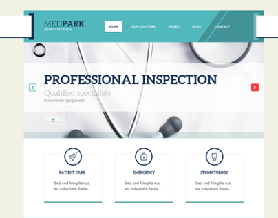 MedPark – Responsive Medical Health WordPress Theme