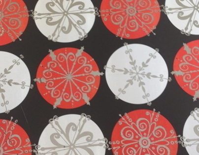Red & Black Geometric Christmas