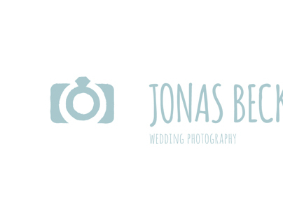 Jonas Beckmann Wedding Photography, Logo