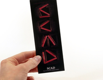 SCAD Library Bookmark