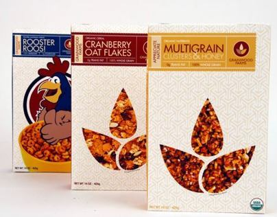 Grainwood Farms Cereal Boxes