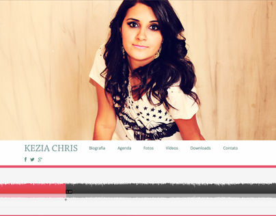 Website Gospel Singer Kezia Chris