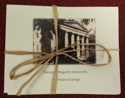 Set of Georgia Regents University History Note Cards