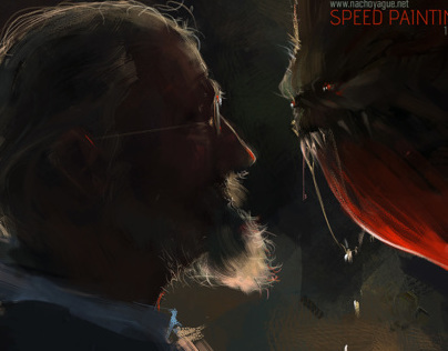 Speed Paintings II - Video Process
