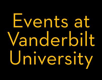 Events at Vanderbilt