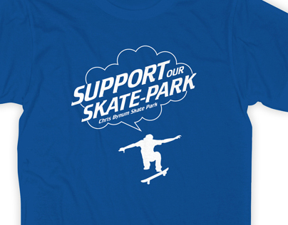 T-shirt Design, Chris Bynum Skate Park