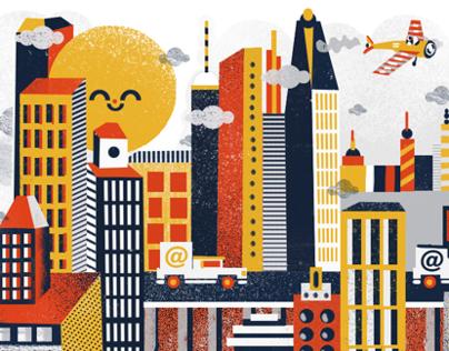Editorial illustrations 2012-2013