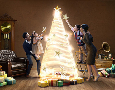 Bank Mandiri Prioritas - Christmas 2012
