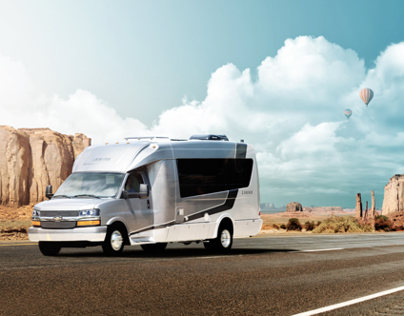 Automotive Retouching - Leisure Travel Vans - Libero