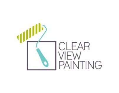 Clear View Painting Logo Design
