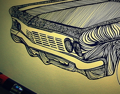 Lowrider Illustration